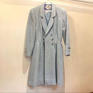 Chanel vintage light blue coat